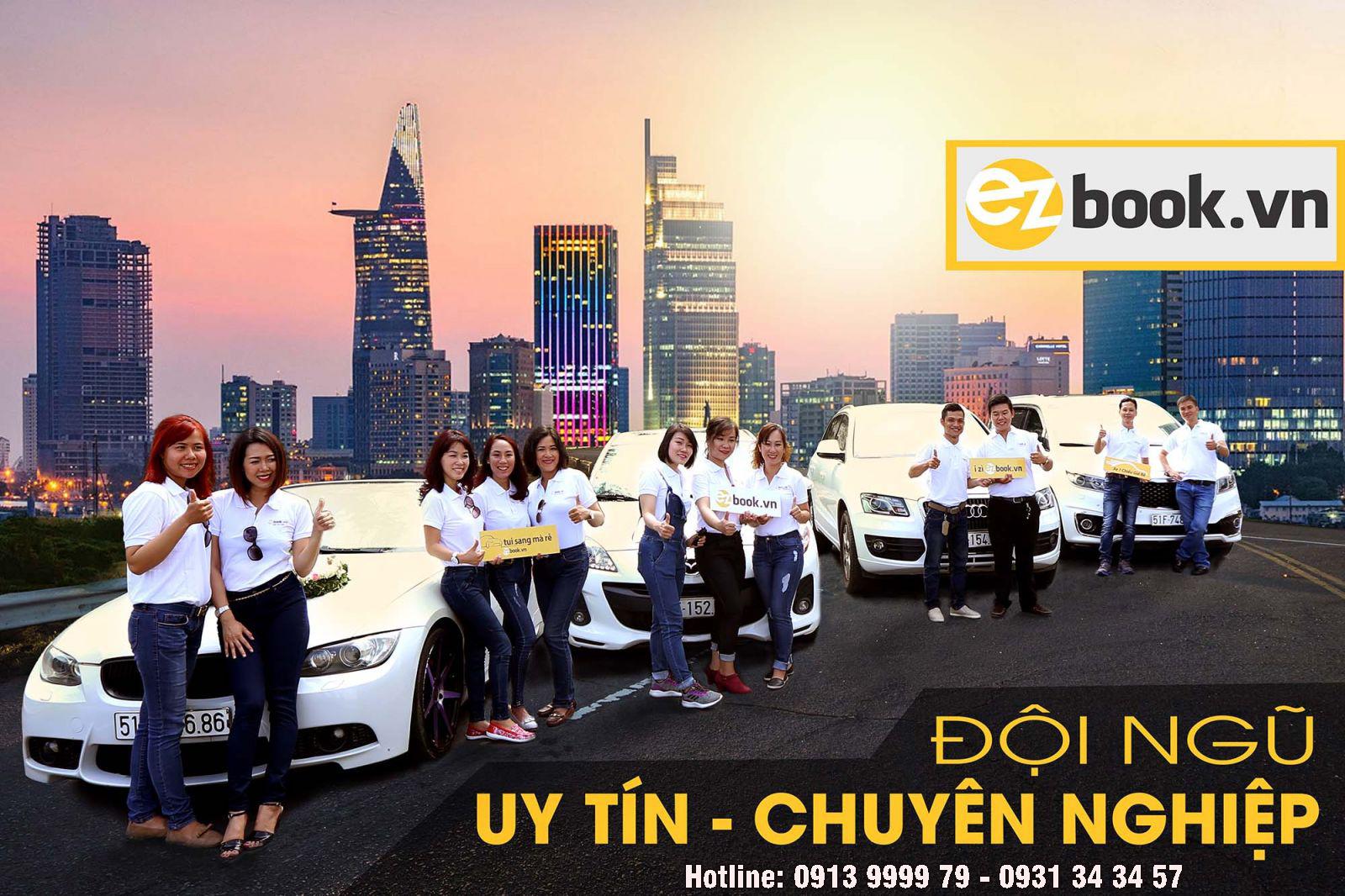 Dịch vụ thuê xe giá rẻ Ezbook