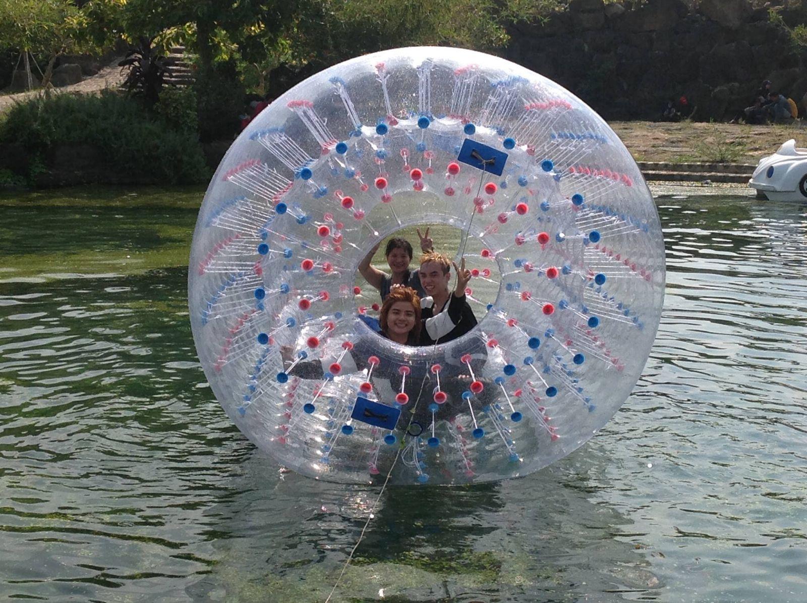 Tham gia hoạt động vui chơi thú vị tại Khu du lịch Suối Mơ quận 9