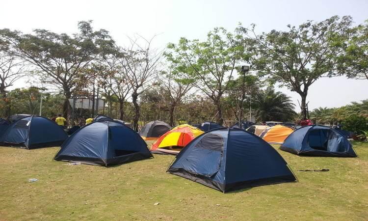 Du khách có thể cắm trại (nguồn Internet)