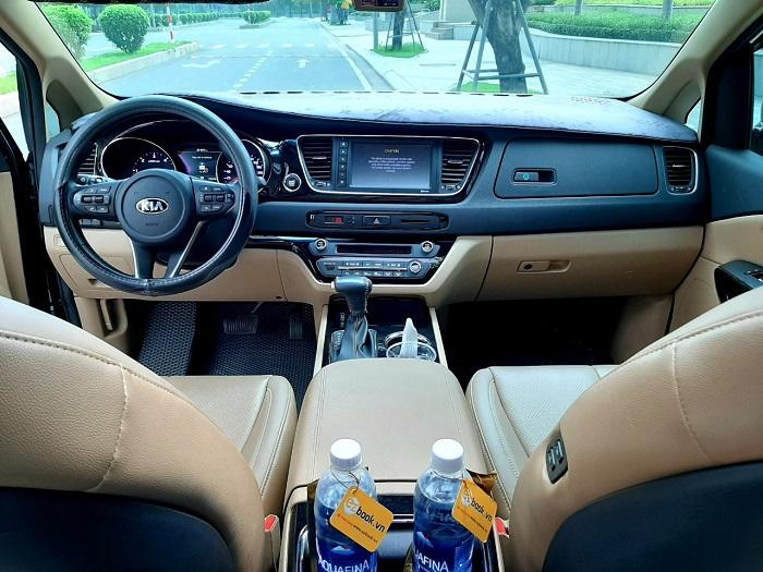 Nội thất xe Kia Sedona vô cùng hiện đại