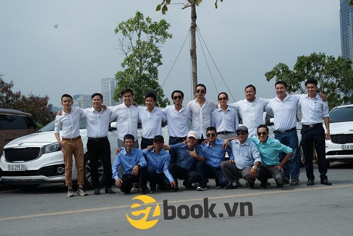 Đội ngũ tài xế lái xe chuyên nghiệp