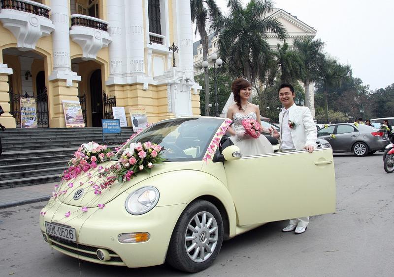 Cho thuê xe cưới giá rẻ nhất TpHCM mà vẫn tươm tất