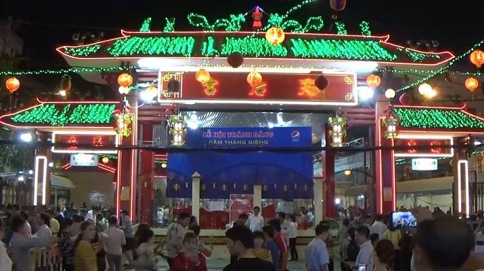 Có nhiều lễ hội diễn ra ở chùa này