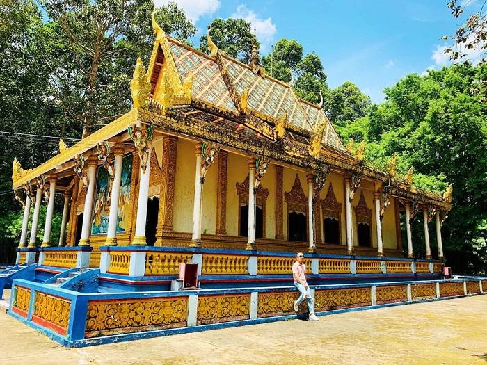 Hình ảnh một góc của chùa