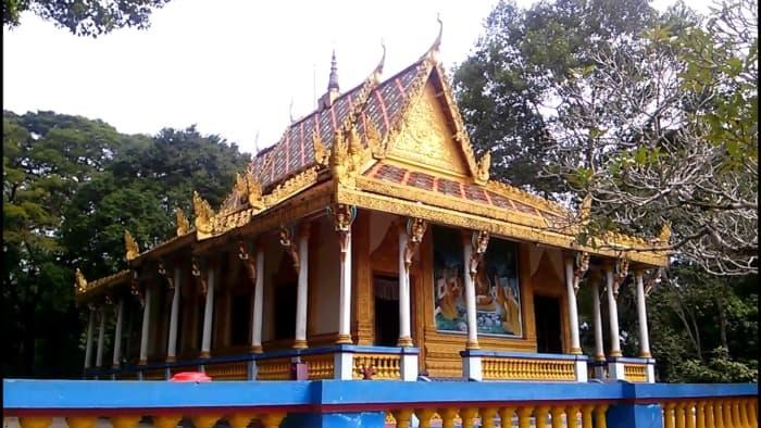 Kiến trúc chùa Dơi