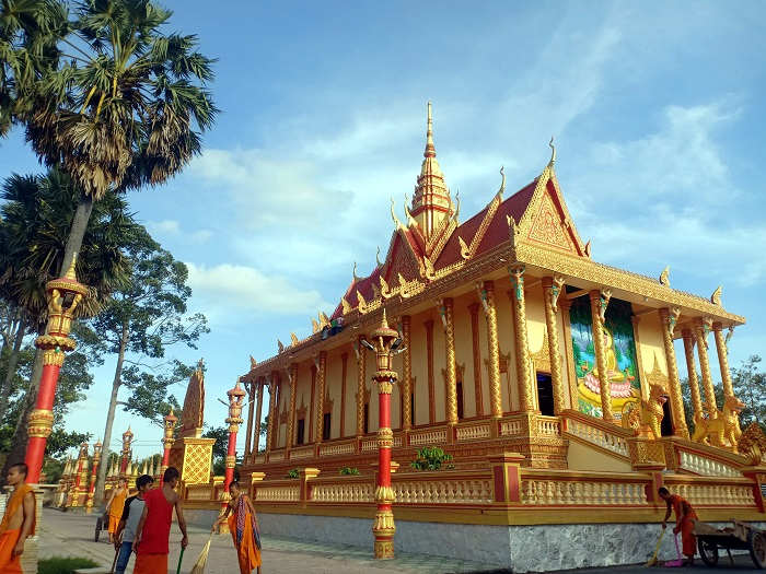 Một góc của chùa Xiêm Cán