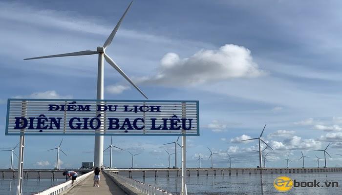 Điện gió Bạc Liêu (hình Ezbook có bản quyền)
