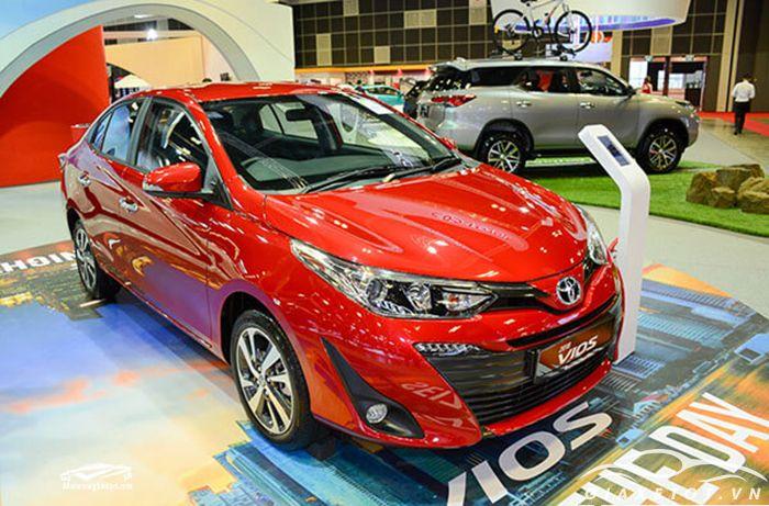 Dung tích bình xăng Toyota