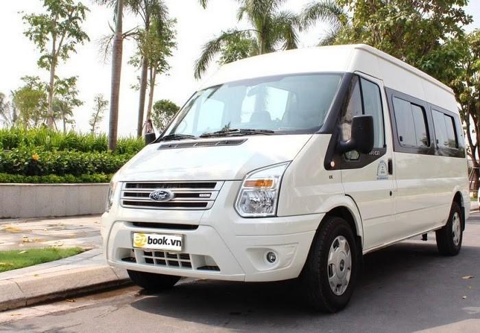 Xe Fordtransit giúp khách hàng thuận tiện di chuyển trên mọi chuyến đi