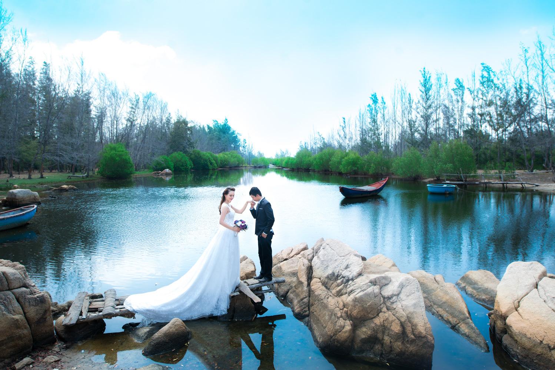Hồ Cốc - Địa điểm chụp hình cưới quen thuộc của các cặp đôi