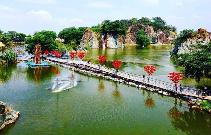 Khu du lịch đầy tiềm năng bởi vẻ đẹp sông nước