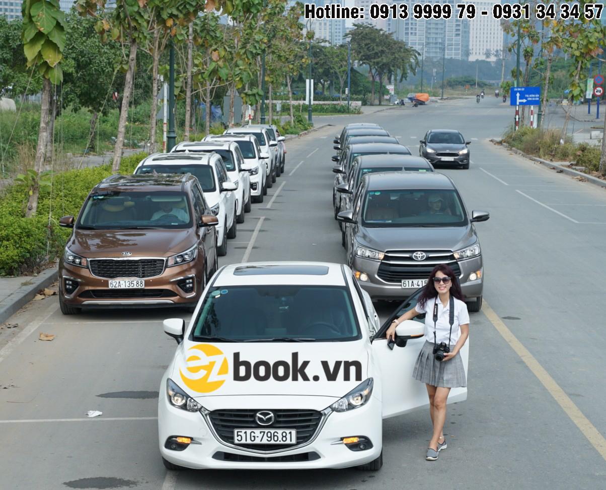 Dịch vụ thuê xe du lịch giá rẻ Ezbook