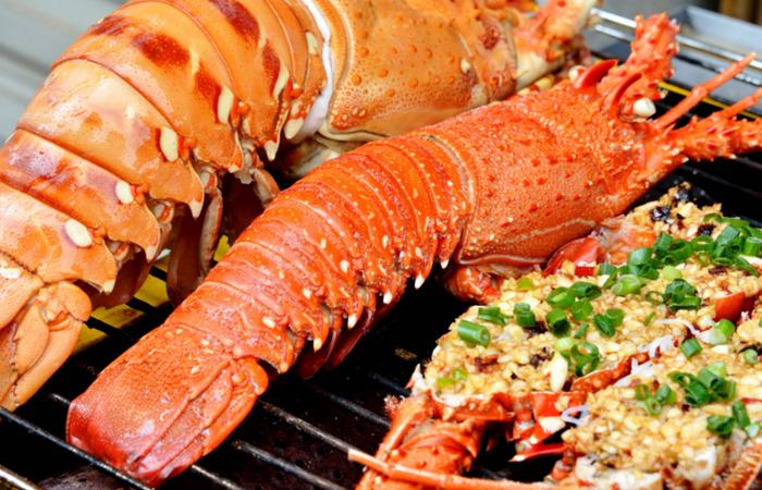 Tôm Hùm ở Đảo Bình Ba (nguồn Internet)