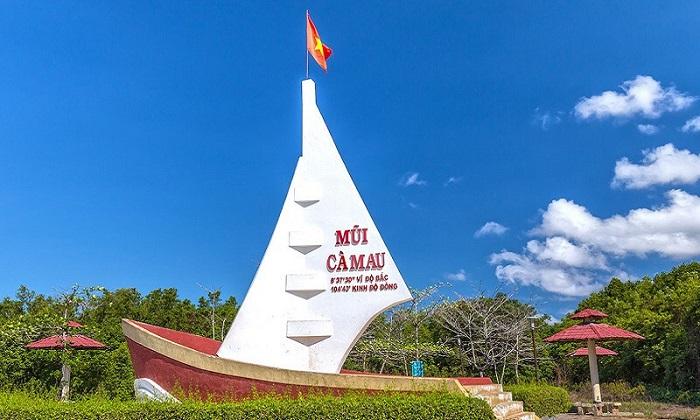 Mũi Cà Mau- Điểm du lịch thu hút khách hàng năm