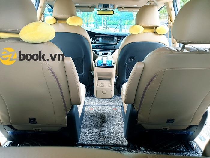 Nội thất xe Sedona hiện đại