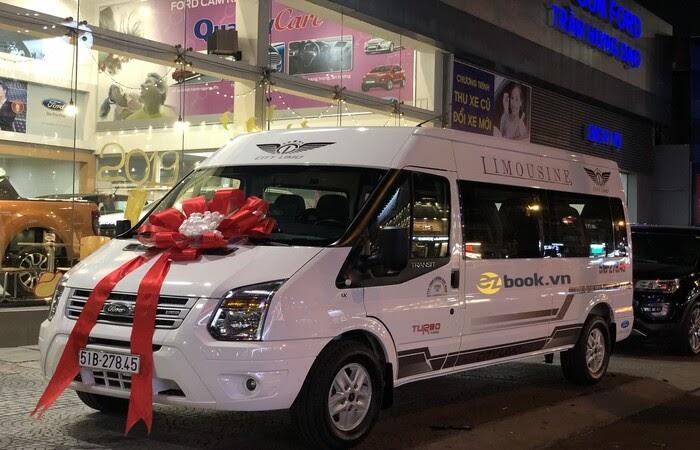 Ezbook cho thuê xe 16 chỗ uy tín hàng đầu